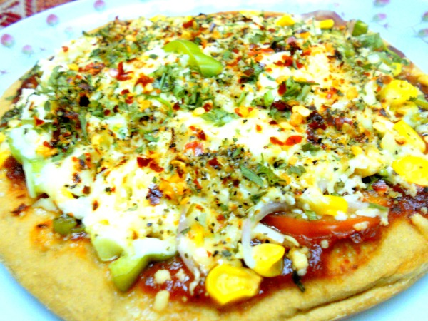 PAN Tossed Veg-Pizza