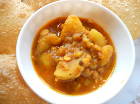 Runny Potato Curry