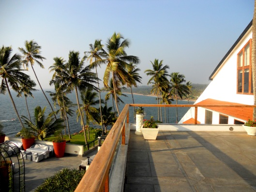 The Terrace View From Leela, Kovalam