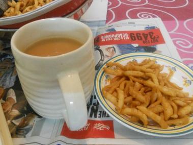 Serve with Sweet Milky Tea